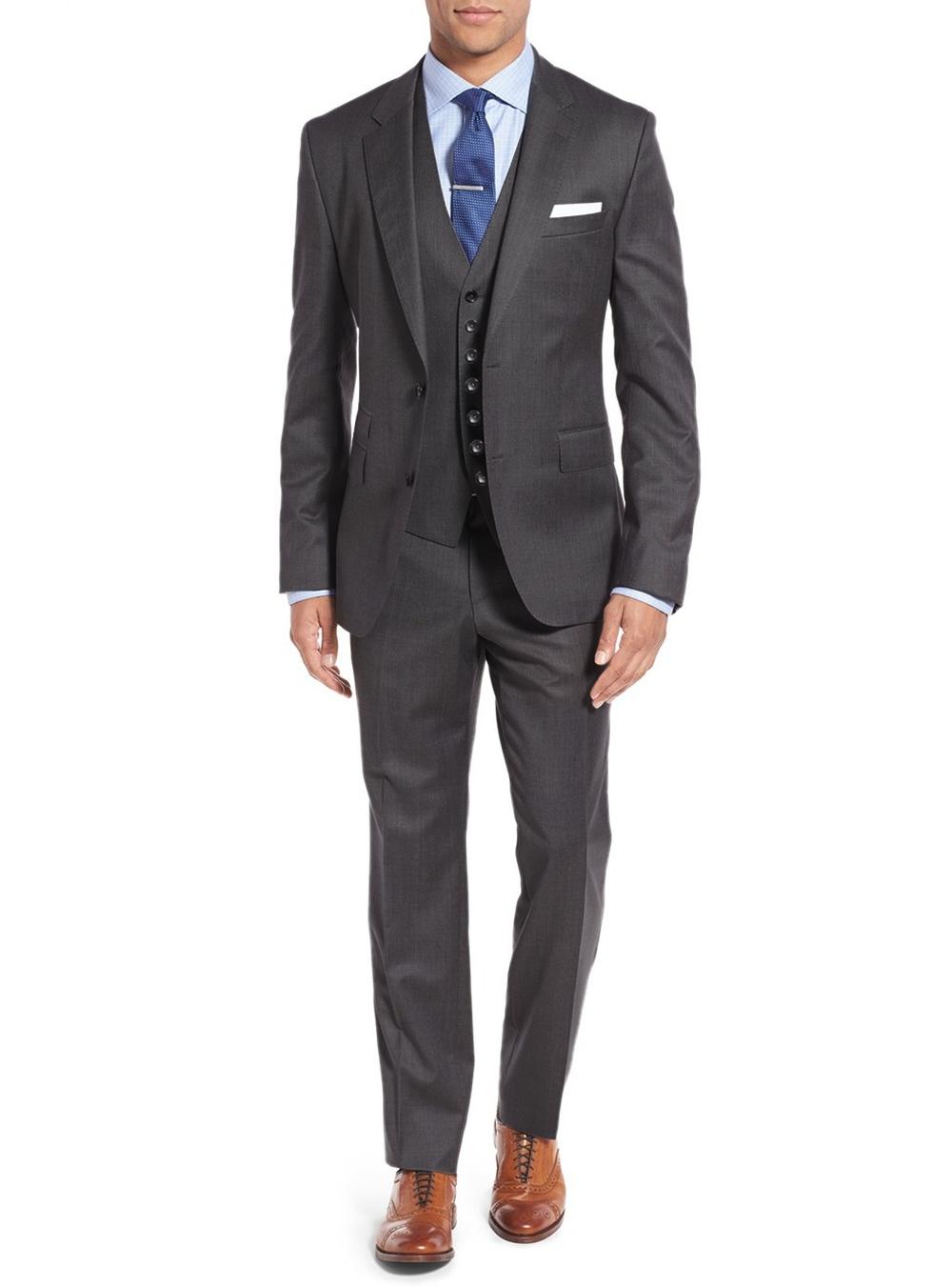 Suits & Suit Separates Men's Clothing Cheap Price Salvatore Exte Mens Two Button 2 Piece Avant Garde Modern Fit Suit Latest Technology