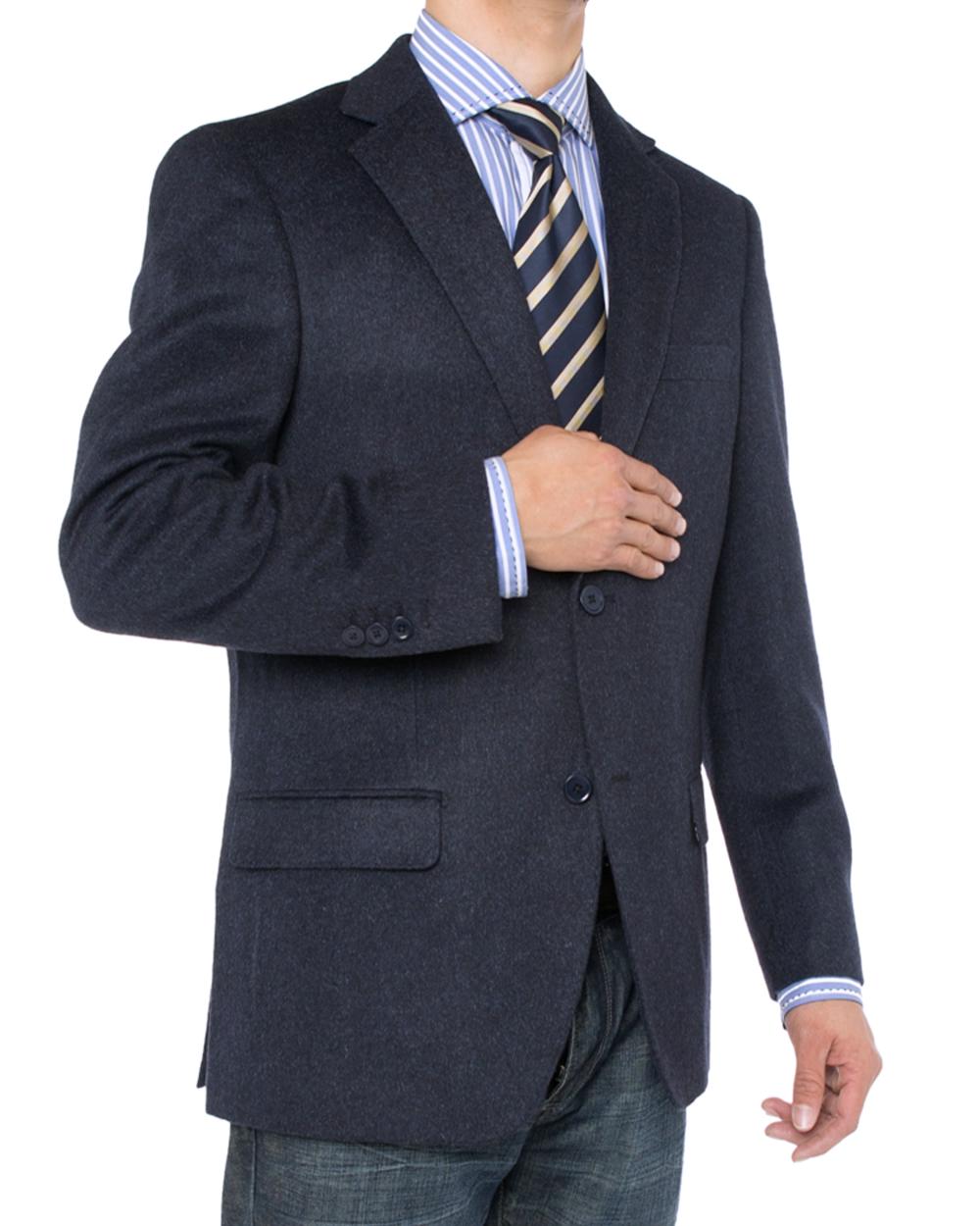 Luciano Natazzi Mens 2 Button Luxe Camel Hair Suit Jacket Sport Coat Blazer